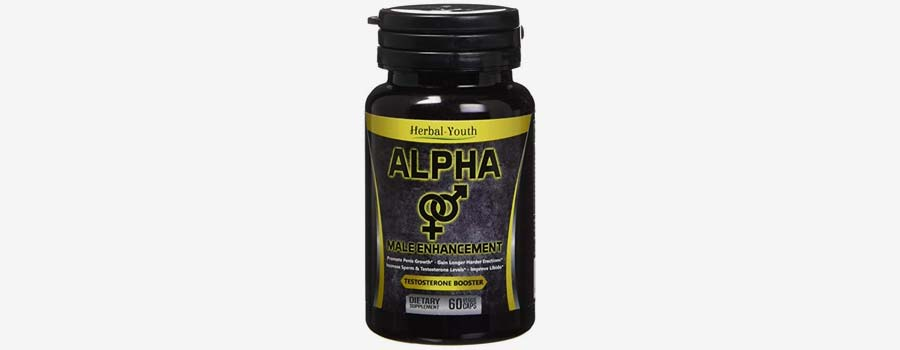 Herbal Youth Natural Alpha Male Enhancement