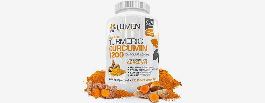 Lumen Naturals Turmeric Curcumin 1200