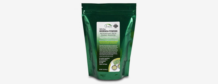Zokiva Nutritionals Organic Moringa Powder