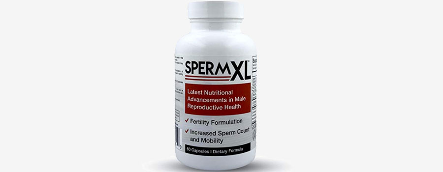 SpermXL Sperm-Count, Fertility & Mobility Formulation
