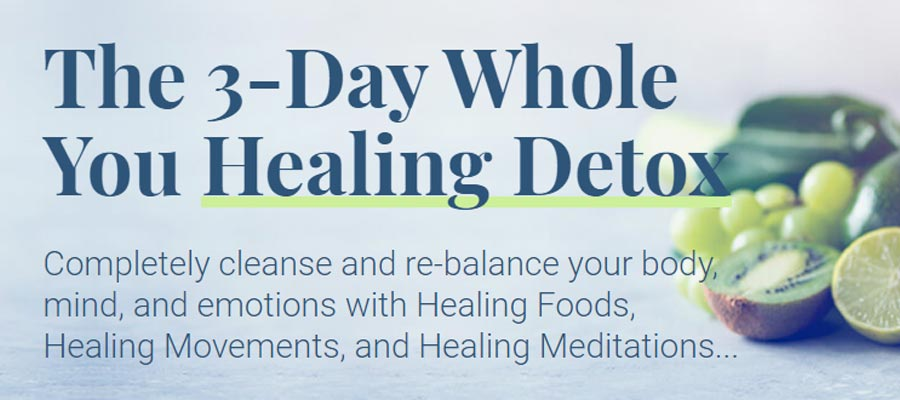 What is The Whole You Healing Detox?